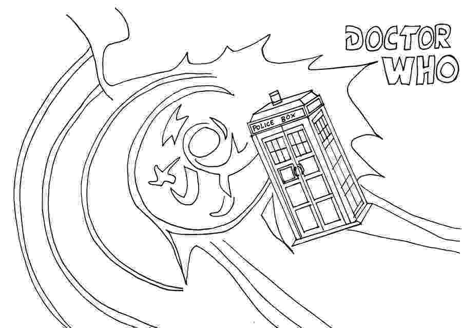 tardis colouring pages drwhotardislineartbywhitestarflower tardis colouring pages