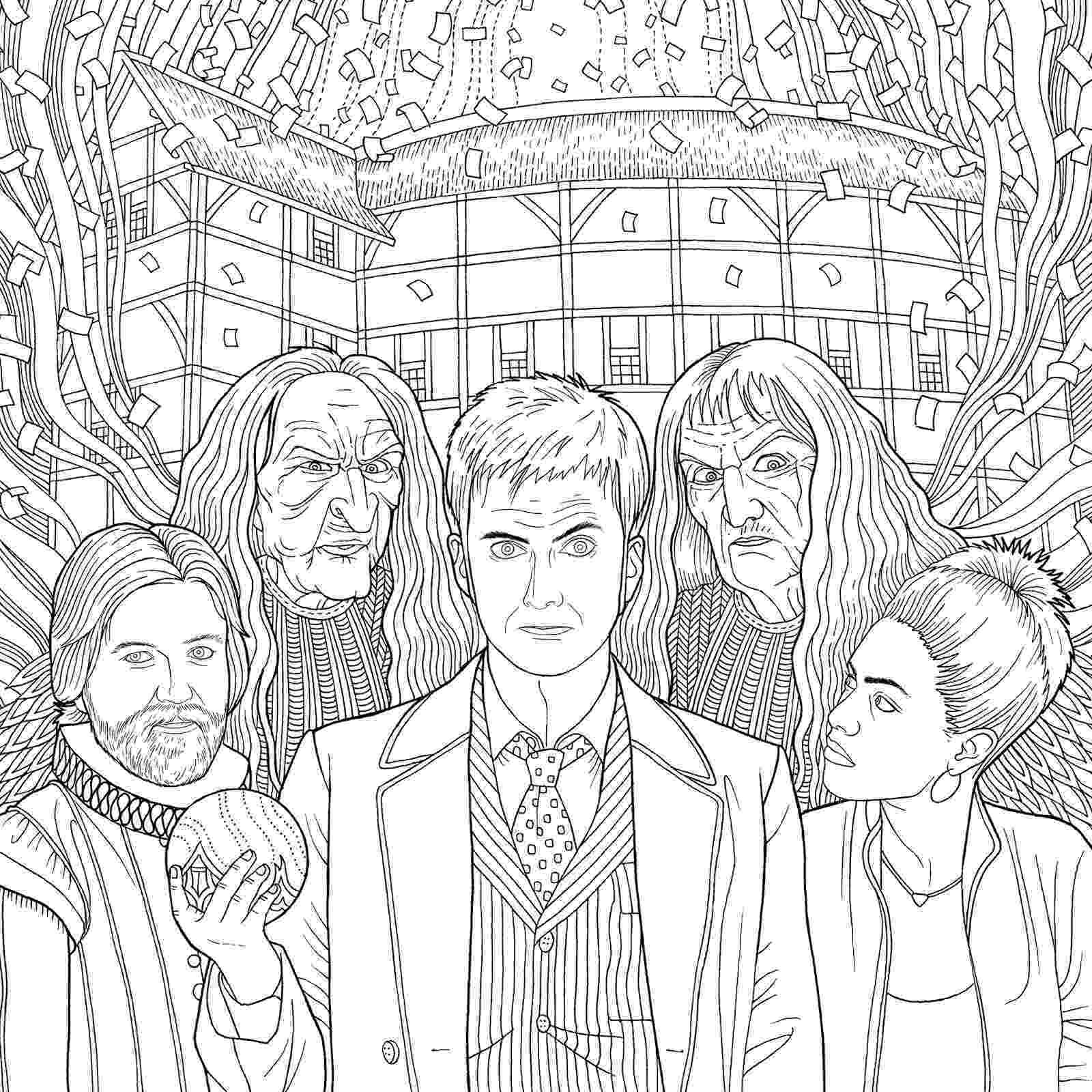 tardis colouring pages new doctor who travels in time colouring book released pages colouring tardis