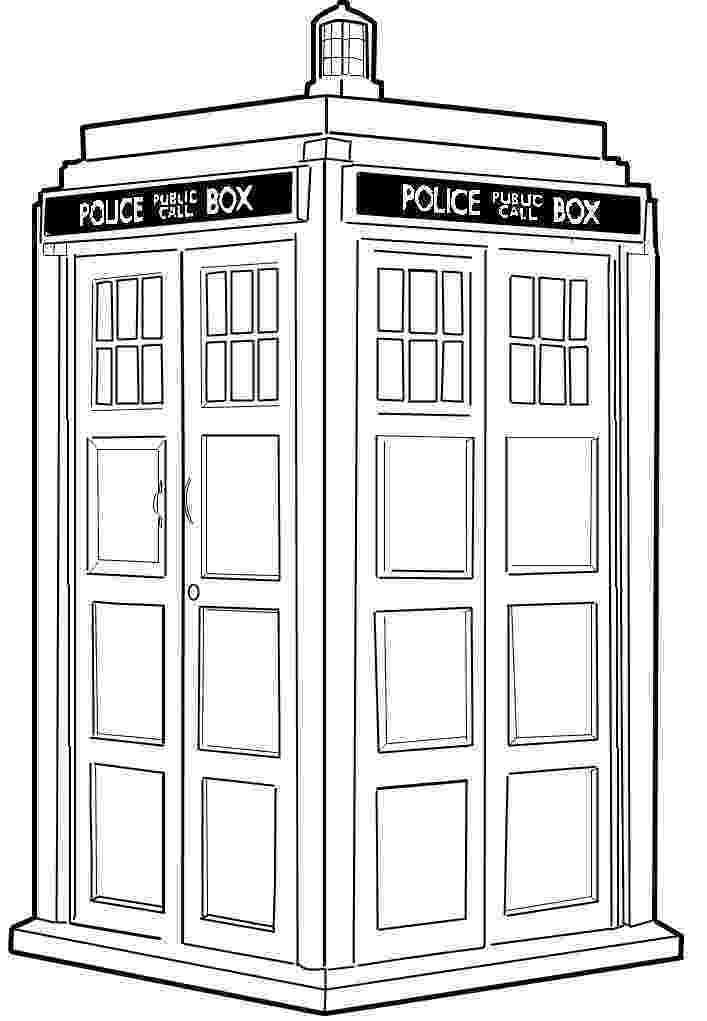 tardis colouring pages printable doctor who papercraft printables hubpages colouring pages tardis