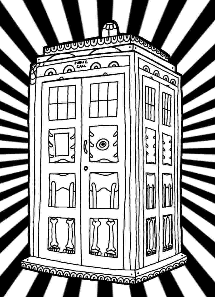 tardis colouring pages the tardis coloring page free printable coloring pages colouring pages tardis