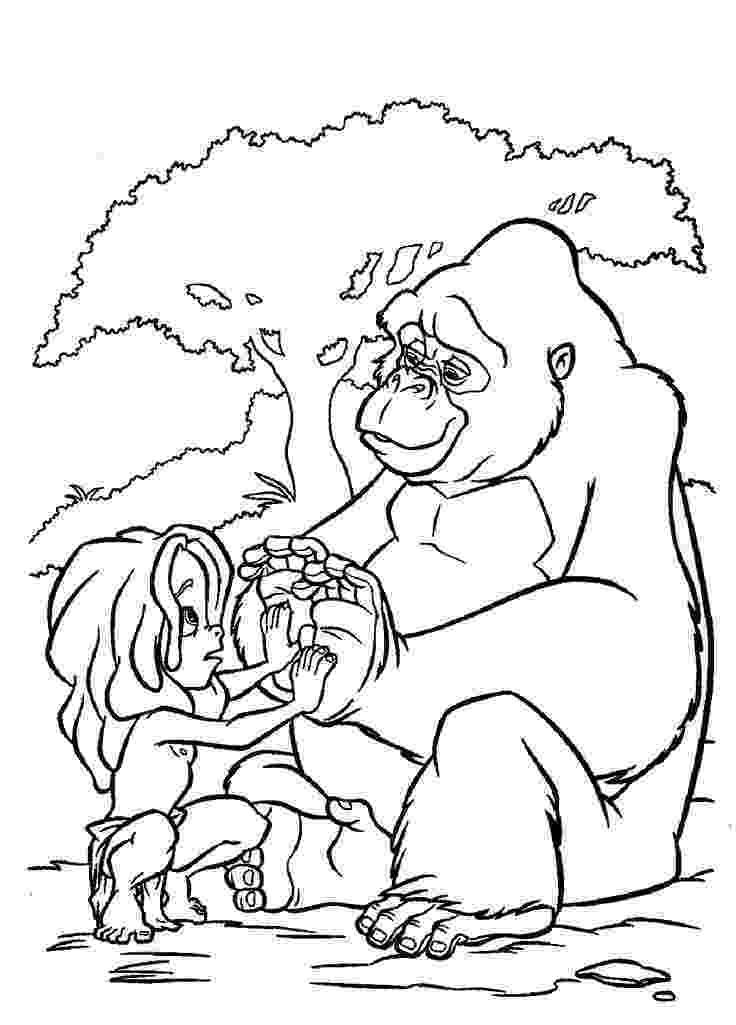 tarzan coloring book kids n funcom 65 coloring pages of tarzan coloring book tarzan