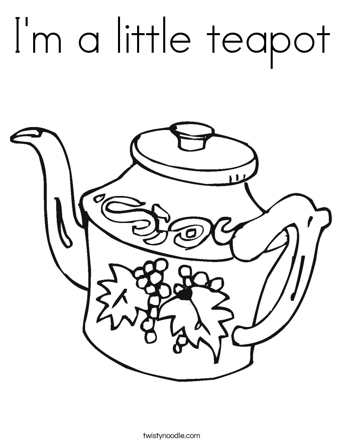 teapot colouring decorative teapot coloring pages download and print for free teapot colouring