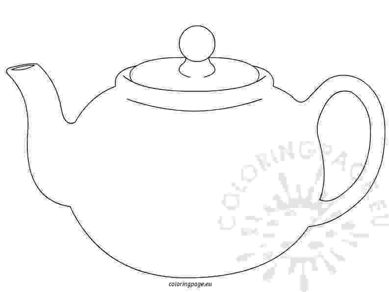 teapot colouring teapot coloring pages colouring teapot