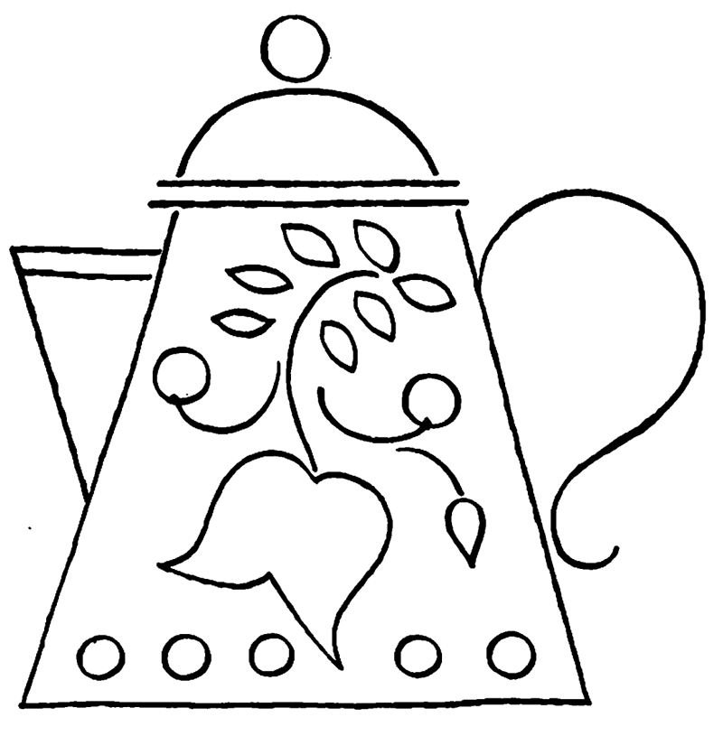 teapot colouring teapot coloring pages for kids coloring page teapot colouring
