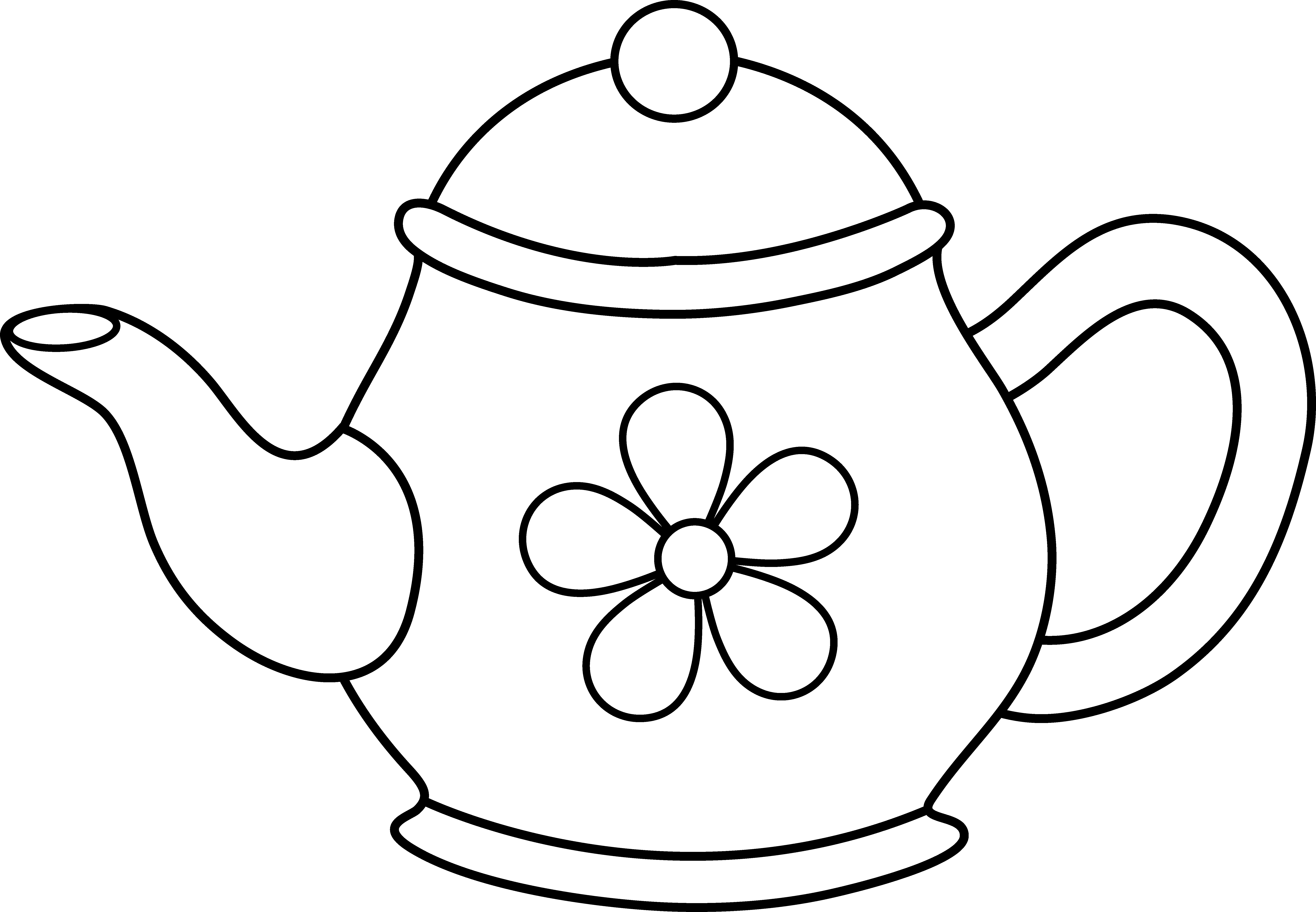 teapot colouring teapot coloring pages printable shelter teapot colouring
