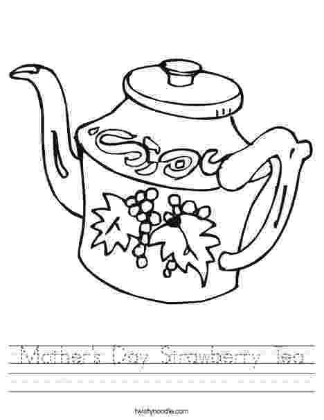 teapot colouring teapot colouring colouring teapot