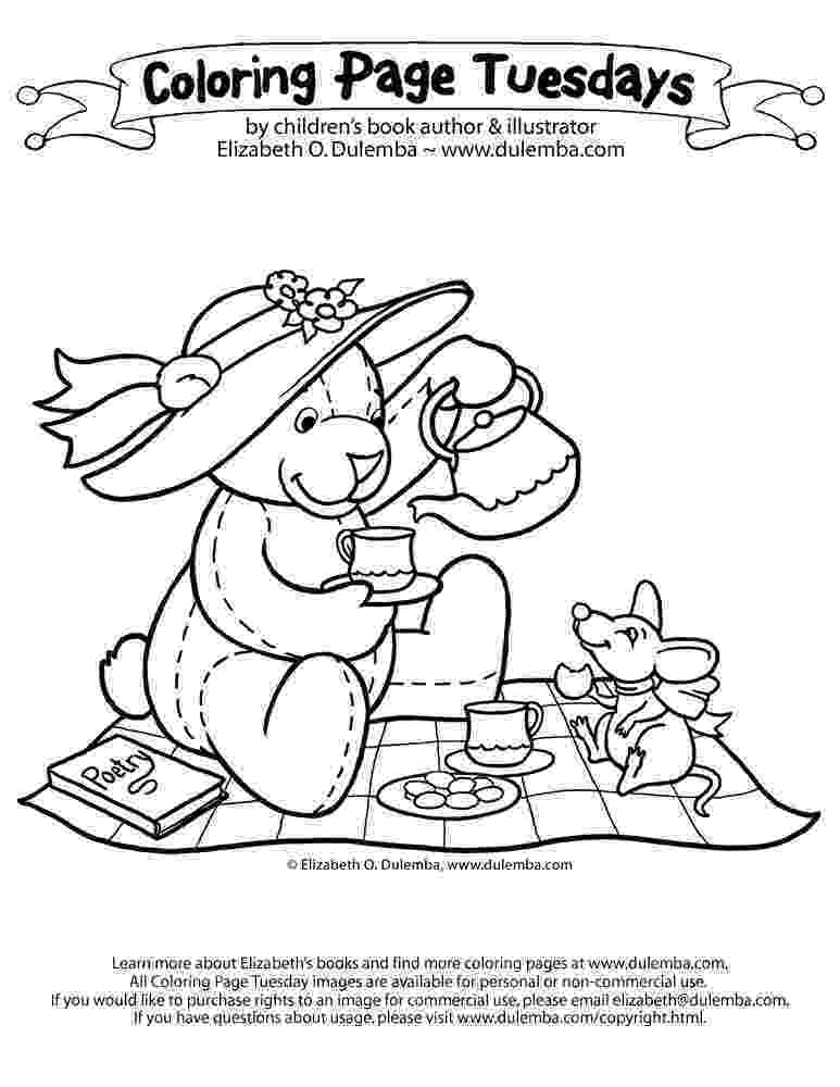 teddy bear picnic coloring pages teddy bear picnic color page teddy bear picnic teddy pages bear picnic coloring teddy