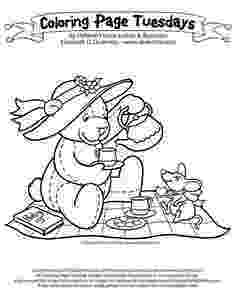 teddy bear picnic coloring pages teddy bear picnic coloring pages for kids it39s a teddy bear pages picnic coloring teddy