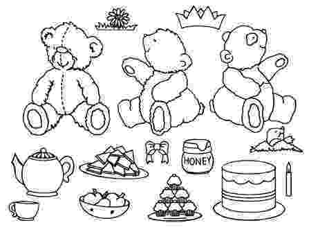 teddy bear picnic coloring pages teddy bears picnic picnic pages bear coloring teddy