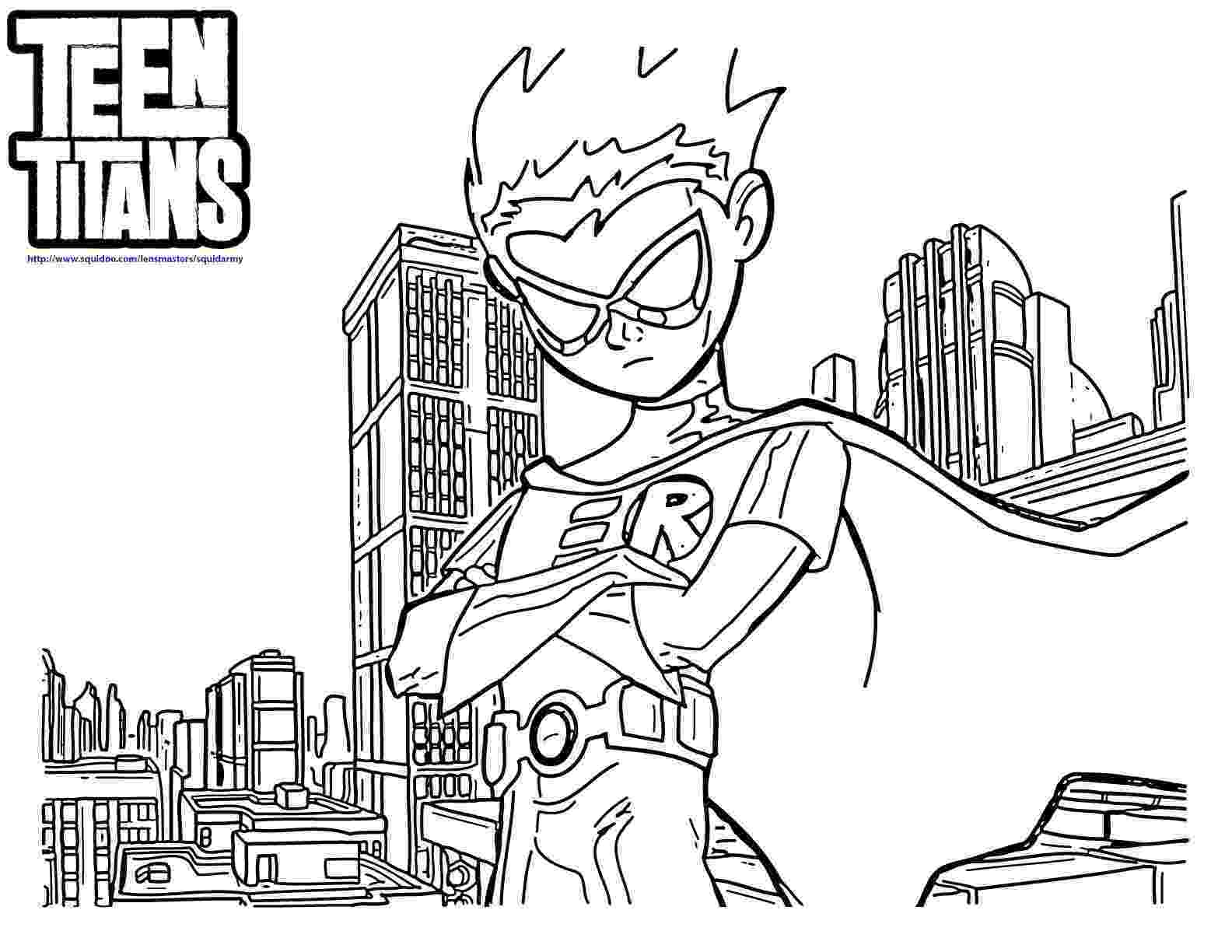 teen titans go coloring pages teen titans go coloring page free printable coloring pages coloring teen go pages titans