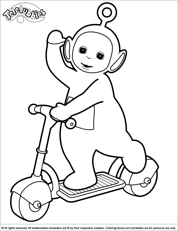 teletubbies colouring pages lala teletubbies coloring pages coloring pages teletubbies colouring pages