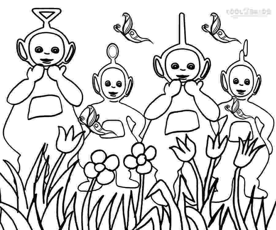 teletubbies colouring pages printable teletubbies coloring pages for kids cool2bkids pages colouring teletubbies
