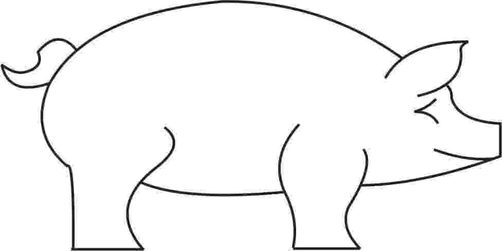 template of a pig cut out farm animal patterns puzzle template 6 pieces pig a template of
