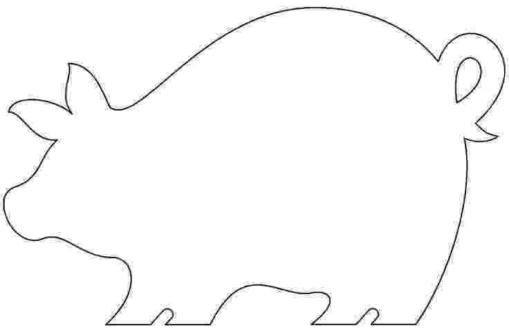 template of a pig free how to make ornies and shelf sitters hearts stars pig a template of