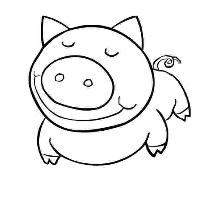 template of a pig pig template animal templates free premium templates a template of pig
