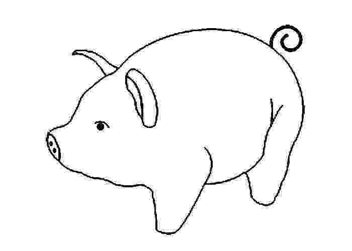 template of a pig this is an original hand drawn outline of a pig in my pig a of template