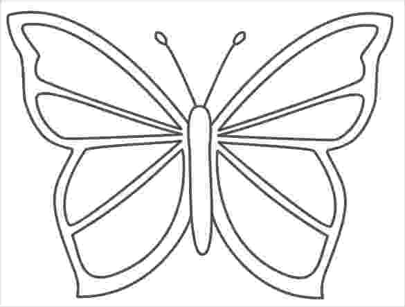 template of butterfly for colouring 28 butterfly templates printable crafts colouring of for butterfly template colouring