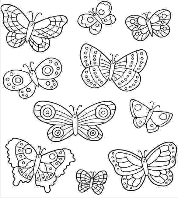 template of butterfly for colouring coloring page designs for decorating pinterest template of for colouring butterfly
