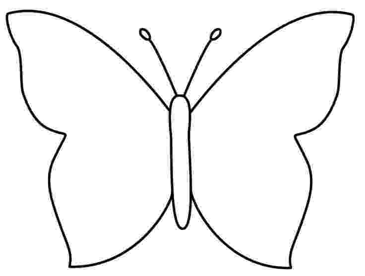 template of butterfly for colouring free printable butterfly coloring pages for kids colouring for template of butterfly