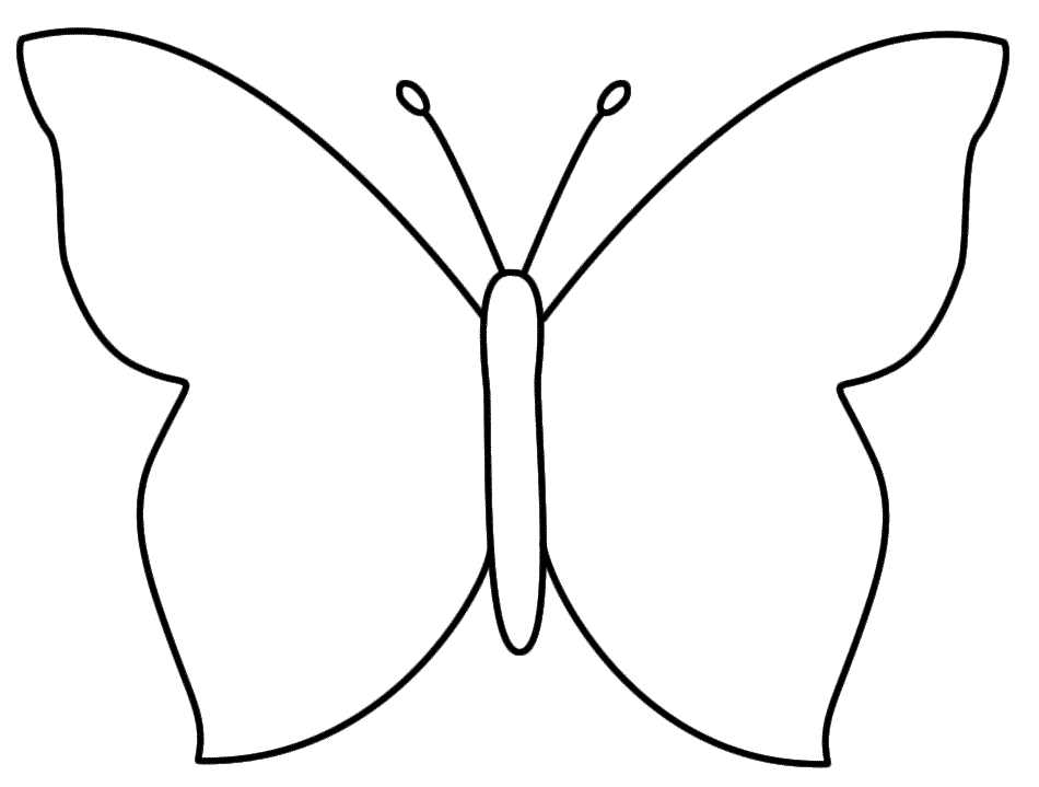 template of butterfly for colouring free printable butterfly template with images flower for butterfly of template colouring