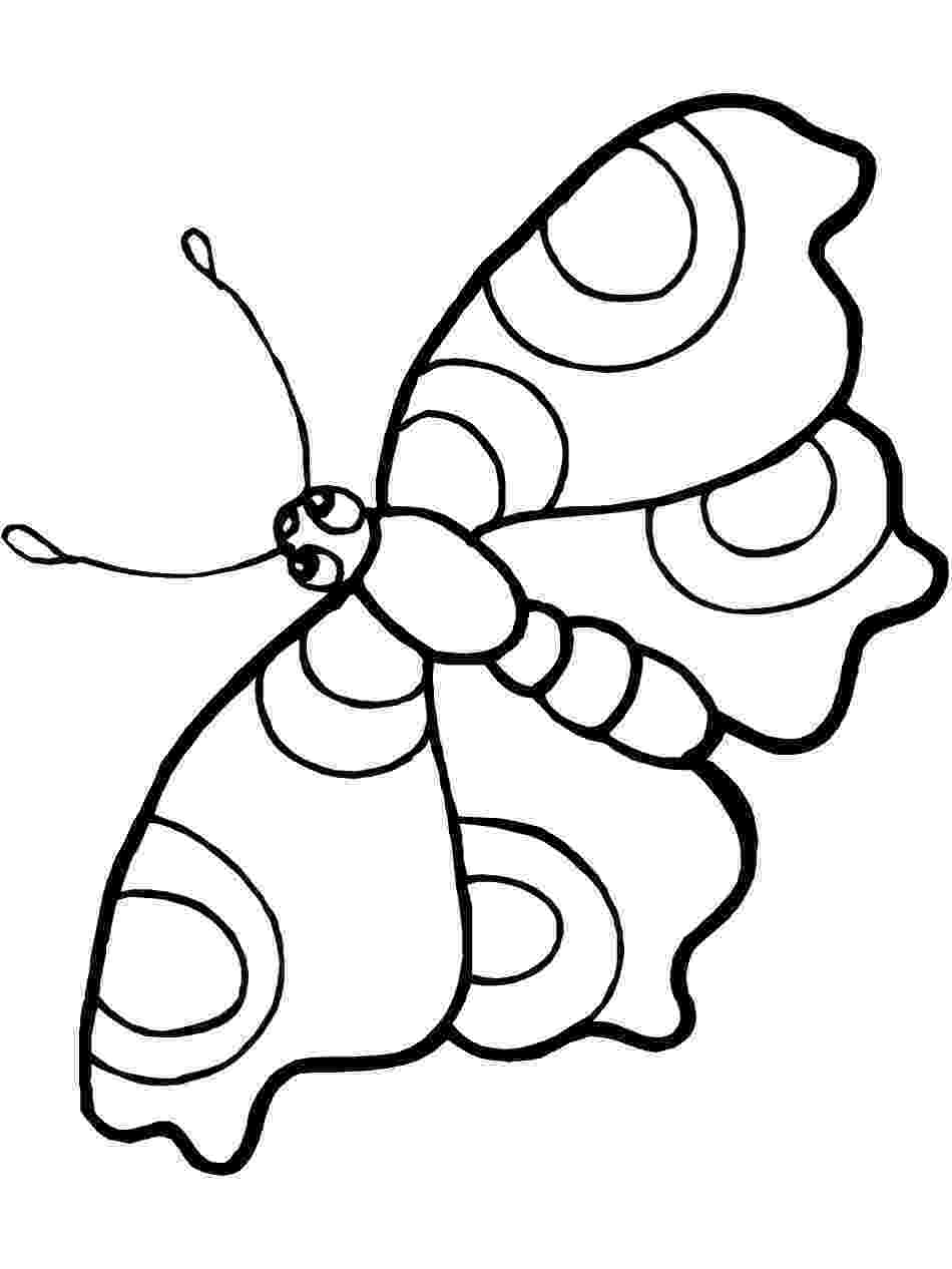 template of butterfly for colouring simple printable coloring pages for toddlers of butterfly for template colouring