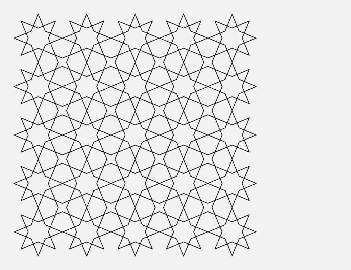 tessellation templates tessellation with octagon and square coloring page free tessellation templates