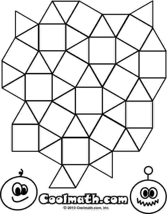 tessellations coloring pages geometric coloring pages hubpages pages coloring tessellations