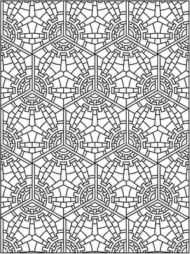 tessellations to color geometric coloring pages hubpages color tessellations to