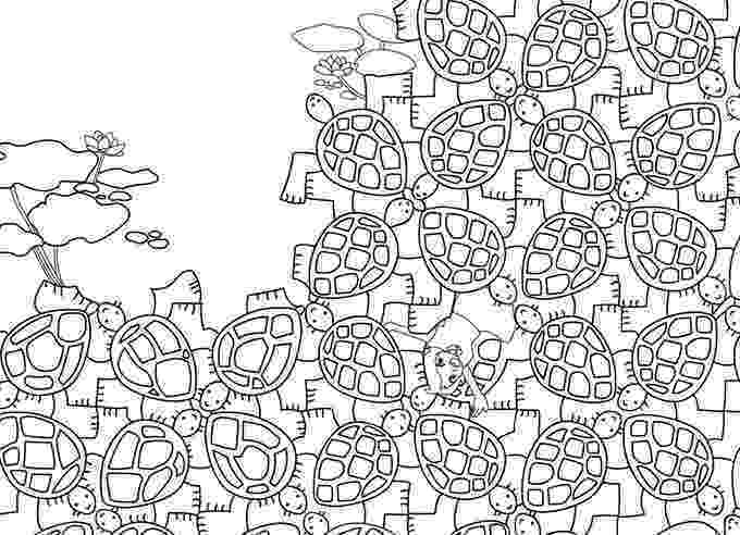 tessellations to color geometric coloring pages hubpages tessellations color to