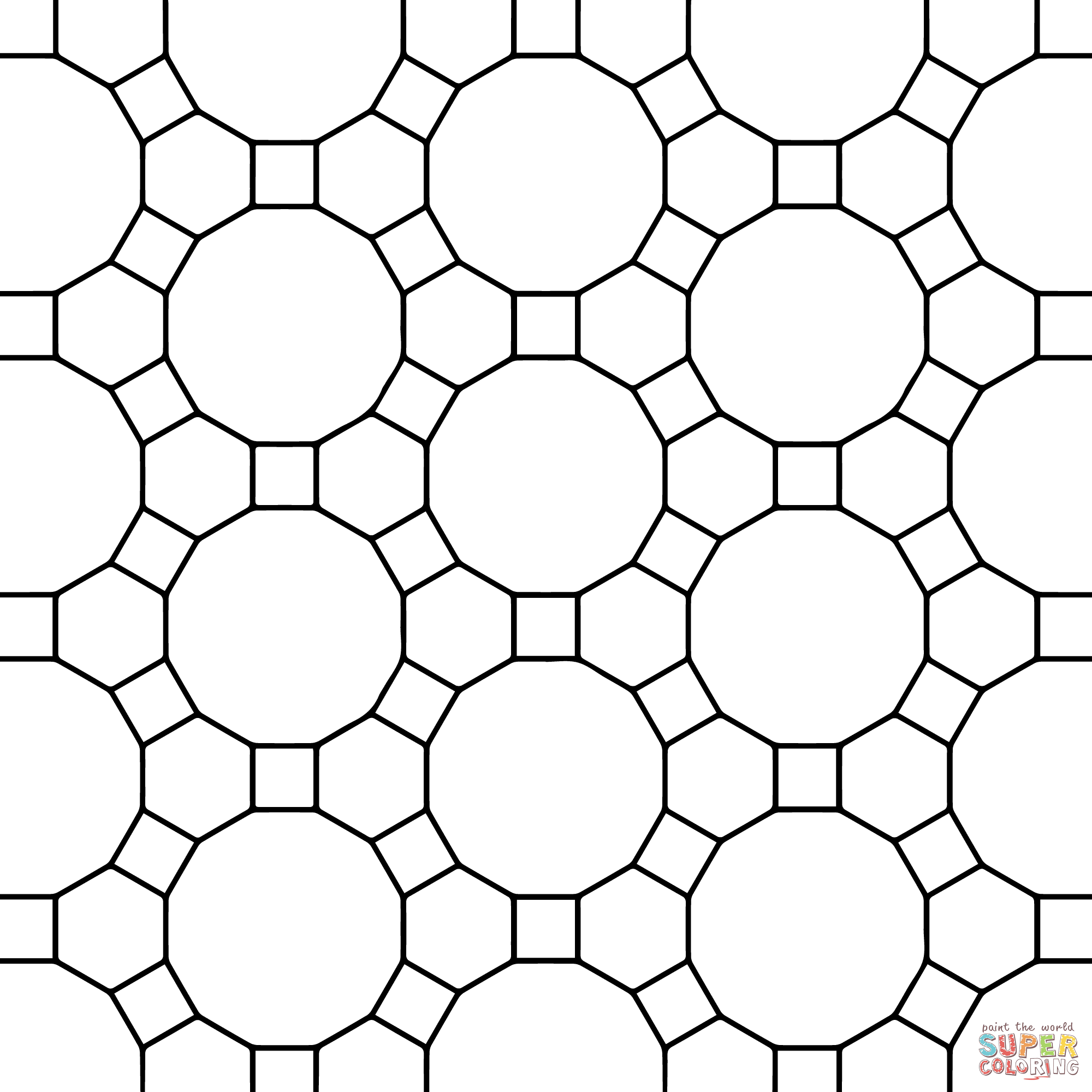 tessellations to color welcome to dover publications tessellations color to