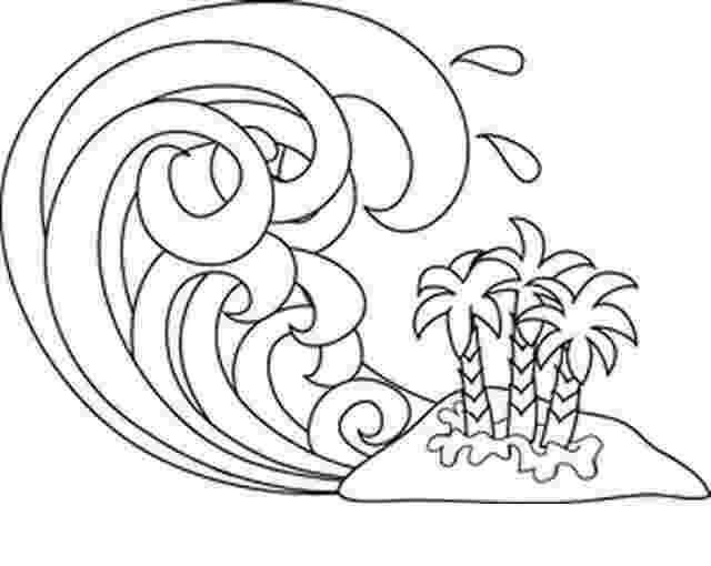 the great wave coloring page ocean waves coloring pages getcoloringpagescom page the wave coloring great