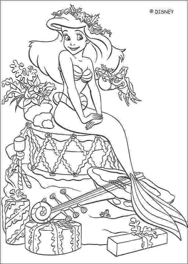 the little mermaid coloring page colour me beautiful the little mermaid colouring pages coloring mermaid page little the