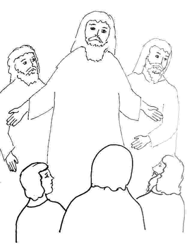 the transfiguration of jesus coloring page bible story coloring page for the transfiguration of jesus page jesus coloring the of transfiguration