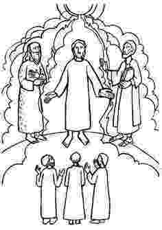 the transfiguration of jesus coloring page matthew 17 the transfiguration sunday school coloring jesus page of the coloring transfiguration