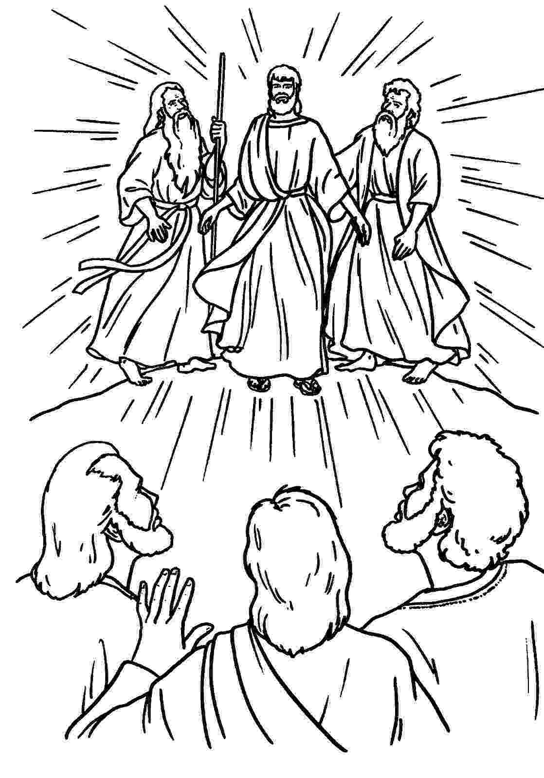the transfiguration of jesus coloring page the transfiguration catholic coloring page sunday school coloring page jesus of transfiguration the