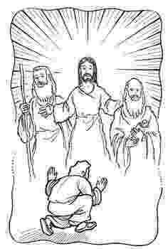 the transfiguration of jesus coloring page transfiguration of jesus coloring page catholic crafts of page jesus the coloring transfiguration