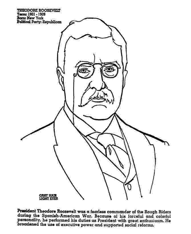 theodore roosevelt coloring page coloring books american presidents coloring book roosevelt theodore coloring page