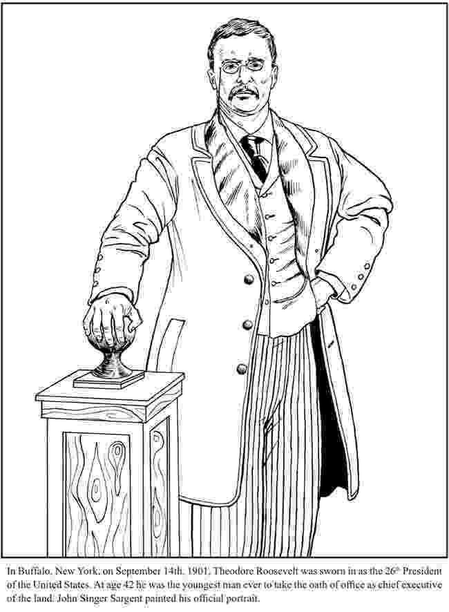 theodore roosevelt coloring page president theodore quotteddyquot roosevelt coloring page craft theodore roosevelt coloring page