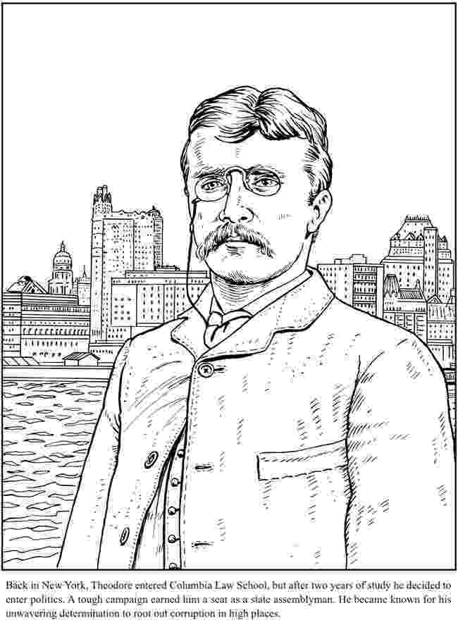 theodore roosevelt coloring page presidents coloring pages roosevelt coloring page theodore