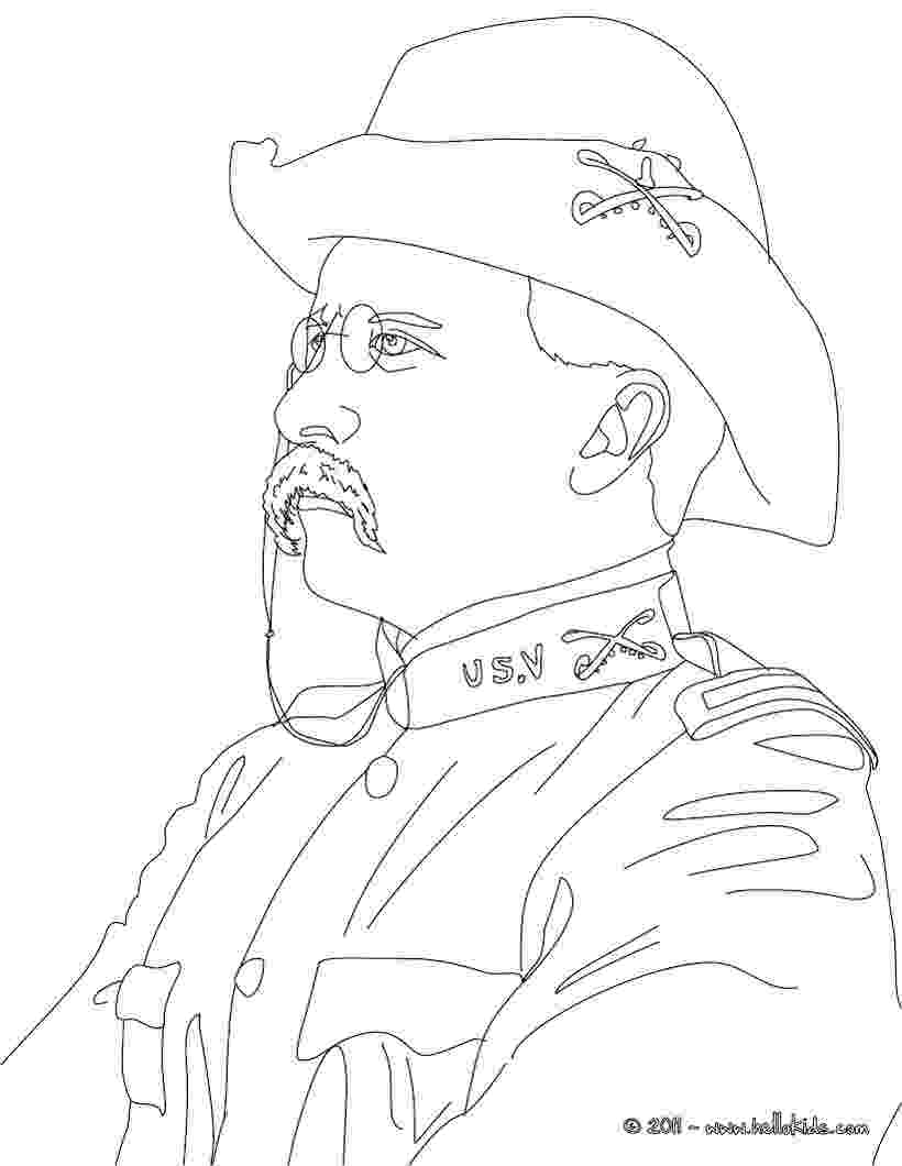 theodore roosevelt coloring page the best free roosevelt drawing images download from 169 coloring page theodore roosevelt