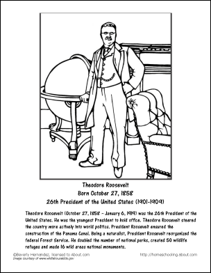 theodore roosevelt coloring page theodore roosevelt wordsearch and worksheets theodore roosevelt theodore page coloring