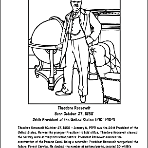 theodore roosevelt coloring page us presidents coloring pages american president coloring coloring theodore page roosevelt