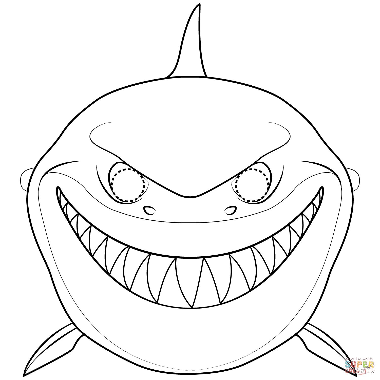 tiburones para dibujar shark mask coloring page free printable coloring pages dibujar tiburones para