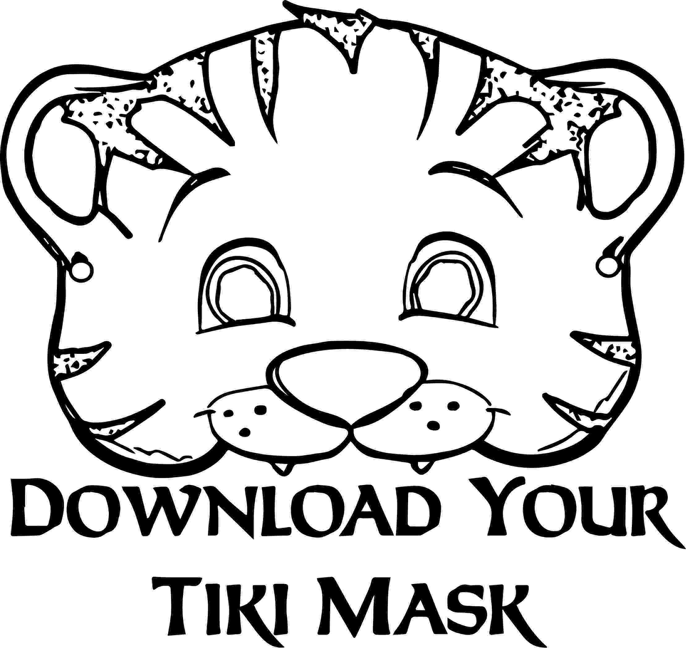 tiger face coloring page 112 gambar lions and tigers terbaik di 2015 tiger face coloring page
