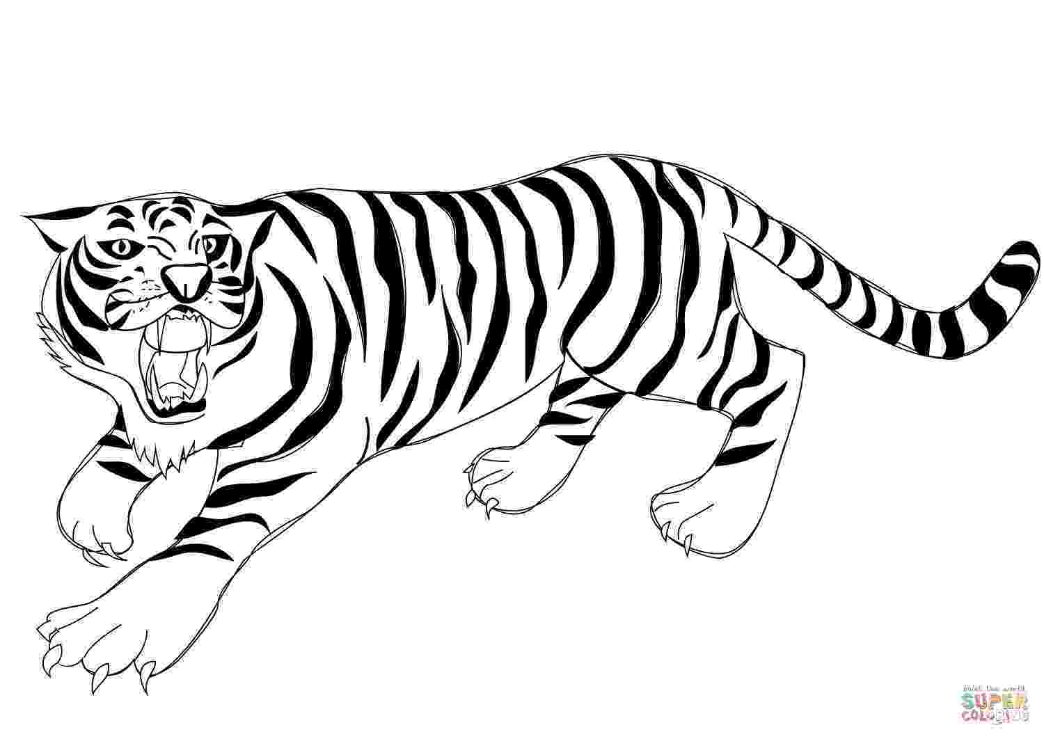 tiger for coloring free printable tiger coloring pages for kids coloring for tiger