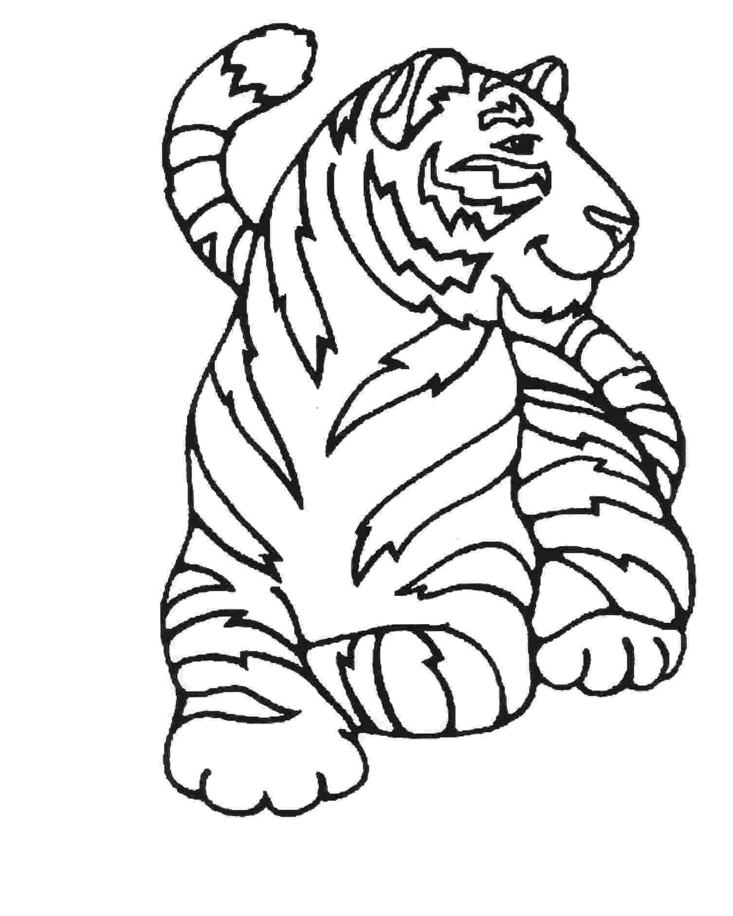 tiger pictures to print and color tigers for children tigers kids coloring pages to tiger print and pictures color
