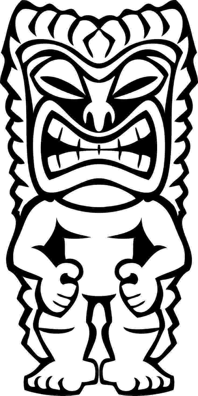 tiki coloring pages 1000 images about tiki totem on pinterest tiki mask pages tiki coloring