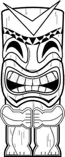 tiki coloring pages collection of tiki clipart free download best tiki tiki pages coloring