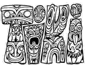 tiki coloring pages pin by anita mefford on tiki tiki mask tiki faces tiki man tiki coloring pages