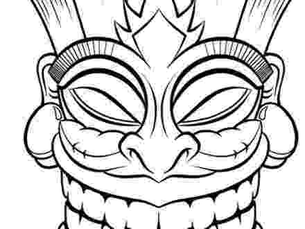 tiki coloring pages tiki coloring pages getcoloringpagescom coloring tiki pages